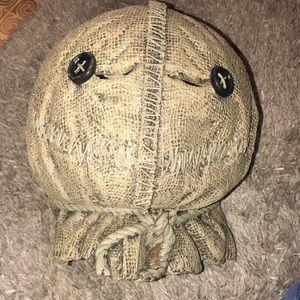 Latex helmet costume